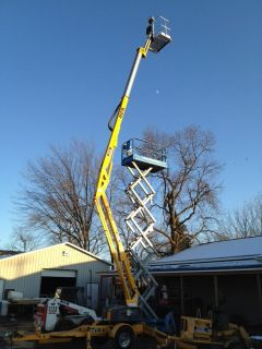 Bil JAX Towable Man Lift 52 Boom Lift