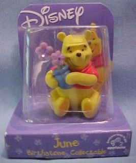 Winnie Pooh Bear Birthday Birthstone June Moonstone Gem
