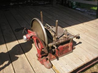 RARE Antique A J Deer Co Royal Meat Slicing Machine Berkel