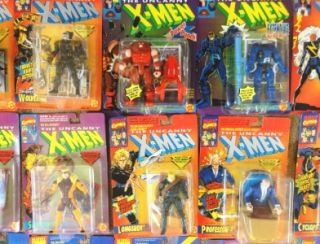 toy biz lot of 44 action figure x men x force