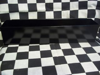 GLOSS BLACK MECHANIC DEEP DRAWER TOOL ORGANIZER TRAY snap to use on