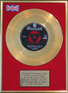 Bill Haley Comets 7Gold Disc Rockin Through The Rye
