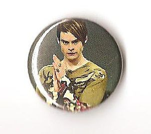 Stefon Bill Hader 1 inch Pinback Badge Button SNL Saturday Night Live