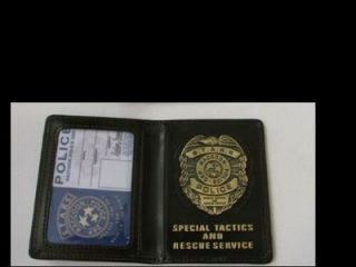 Resident Evil S.T.A.R.S ID Badge with Metal Emblem Blank ID Type