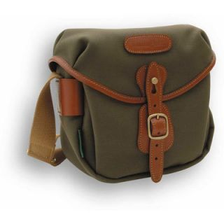 BILLINGHAM HADLEY DIGITAL CAMERA BAG (Sage with Tan Leather Trim) NEW