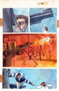 Bill Sienkiewicz Original Art Elektra Assassin 4 Page 5