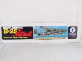 Royal Quality Kits B 25 Billy Mitchell Model Plane for RC Radio