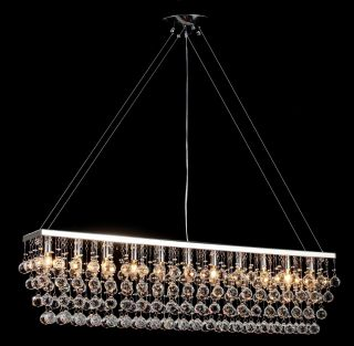 Modern Rain Drop Chandeliers Billiard Pool Table Light