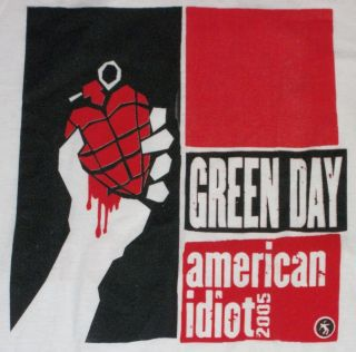Idiot Tour T Shirt Brand New Billie Joe Holiday St Jimmy