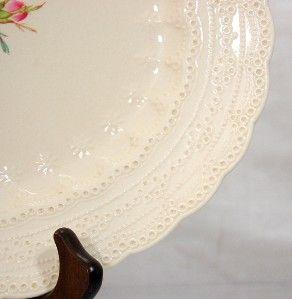 platter spode s jewel billingsley rose pink rose