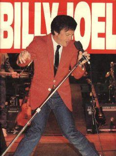 Billy Joel 1982 Nylon Curtain Tour Concert Program Book