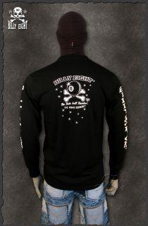 bike biker sweatshirt pullover billy eight the king of rockabilly