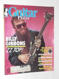 PLAYER MAGAZINE BILLY GIBBONS ZZ TOP BILLY SHEEHAN BIRELI LAGREENE 86