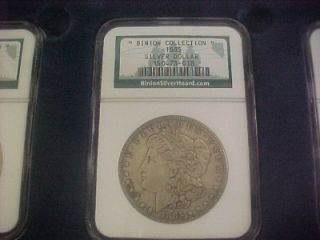 Binion Hoard Collection Morgan Peace Silver Dollar Set