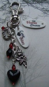 The Vampire Diaries Love Bites Keychain Purse Clip