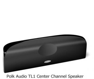 sealed contents include one polk audio tl1 center channel speaker