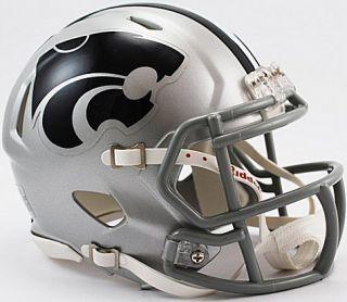Kansas State Wildcats Riddell NCAA College Revolution Speed Mini