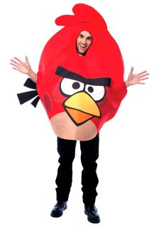 adult red angry bird costume ZOOM