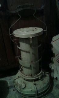 Aladdin Blue Flame Portable Green Kerosene Space Heater Cooker Stove