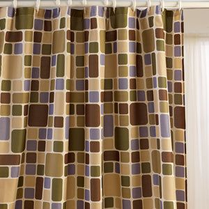 Royal Court Brown Shower Curtain On Popscreen