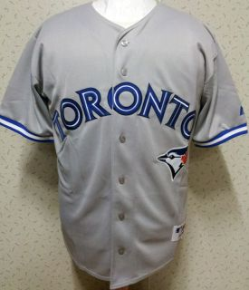 2012 Toronto Blue Jays Blank Road Sewn Jersey High Quality Mens 6 Size