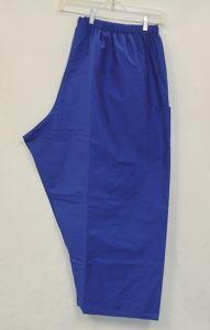 Royal Blue Cargo Sassy Scrub Pants Size 4XL New