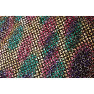 Rainbow Gold Black Confetti Dot Sequin Fabric 5 50 Yard