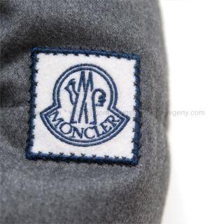 MONCLER Gamme Bleu by Thom Browne Cashmere Wool Down Filled Blazer