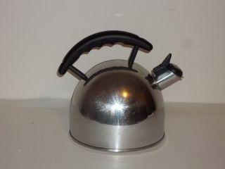 Teakettle Pot Millenium Whistling Stainless Steel Tea Kettle