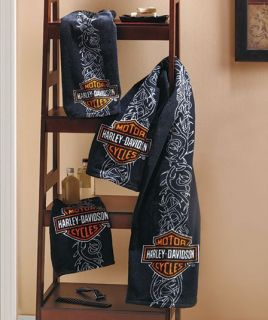 Pc. Harley Davidson® Towel Set makes a great gift for any Harley