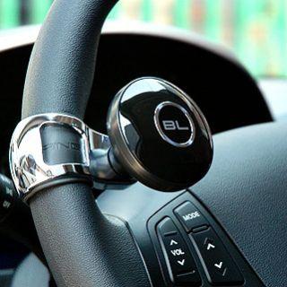 Blacklabel Steering Wheel Power Handle Safety Knob Clamp Spinner 3