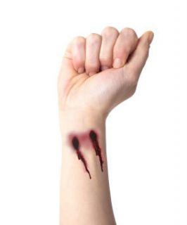 True Blood Vampire Bitetemporary Tattoo Pack Halloween