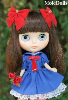 original doll neo blythe petit dejeuner champs elysees rbl mold by