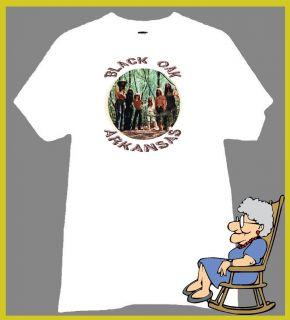 Black Oak Arkansas T Shirt Jim Dandy Band Log Logo