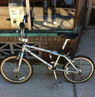 Old School Vintage BMX Mongoose Hooligan Bike
