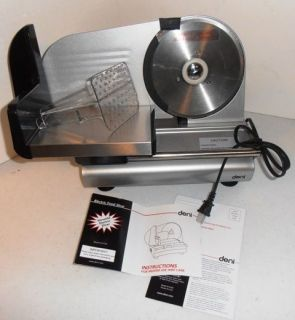 listing is for a new in box Deni Electric Food Slicer, model 14150