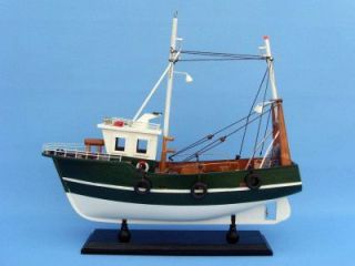 features fishing r us 15 fully assembled model fishing boat not
