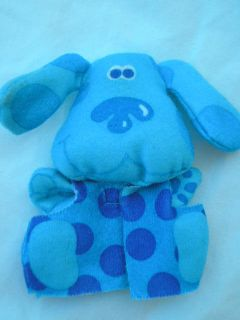Blues Clues Finger Puppet Blues Pajama Party Toy New