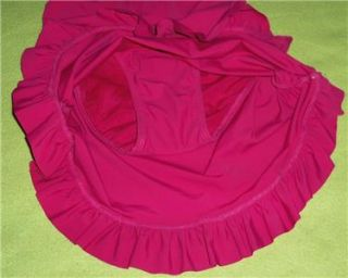 Love Your Assets Sarah Blakley SPANX Pink Slimming Swim Suit Dress