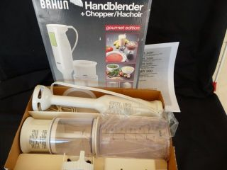 MR 380 HandHeld Stick Blender with Accessories Hand Blender Whips Skim