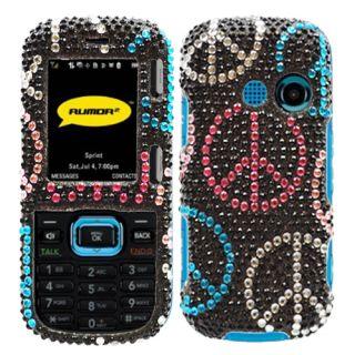 LG Rumor 2 LX265 Cosmos VN250 Peace Bling Case