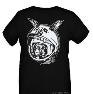 Blink 182 Space Bunny Pop Punk Rock T Shirt M XL NWT