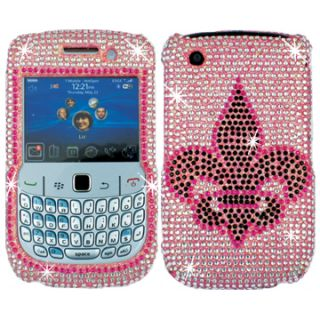 Rhinestone Bling Case Cover Blackberry Curve 9300 9330