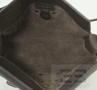 Mulberry Dark Brown PEBBLED Leather Blenheim Shoulder Bag
