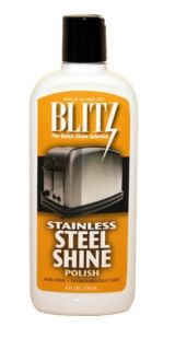 steel shine liquid polish 20641 blitz stainless steel sine liquid