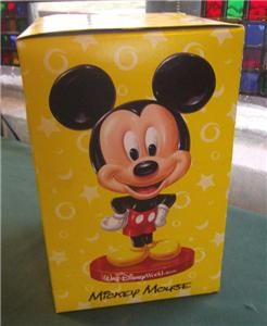 Keebler Walt Disney World Mickey Mouse Bobblehead Bobble New