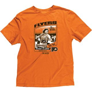 BOBBY CLARKE PHILADELPHIA FLYERS WINTER CLASSIC LARGE TEE SHIRT FREE