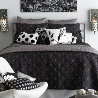 Blissliving Home Toko Full/Queen Three Piece Coverlet Set, Grey