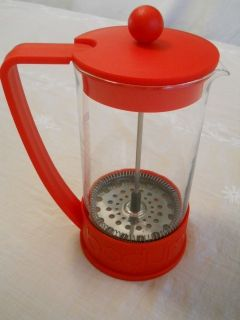 BODUM BRAZIL FRENCH COFFEE PRESS RED 34 oz Coffee Espresso Maker
