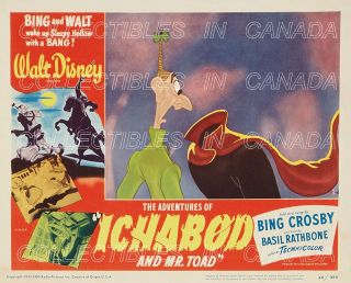 THE ADVENTURES OF ICABOD AND MR. TOAD 1949 ★ Headless Horseman